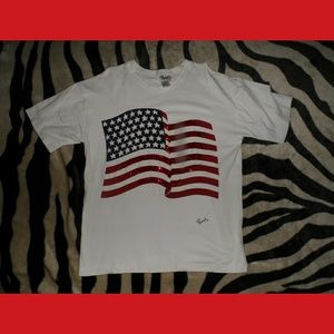American Flag Sequence USA t-shirt